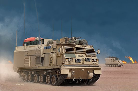 Trumpeter 01063 M4 Command and Control Vehicle (C2V) 1/35