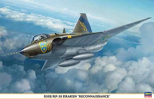 Hasagawa 07482 Draken fly 1/48 Scandinavian model
