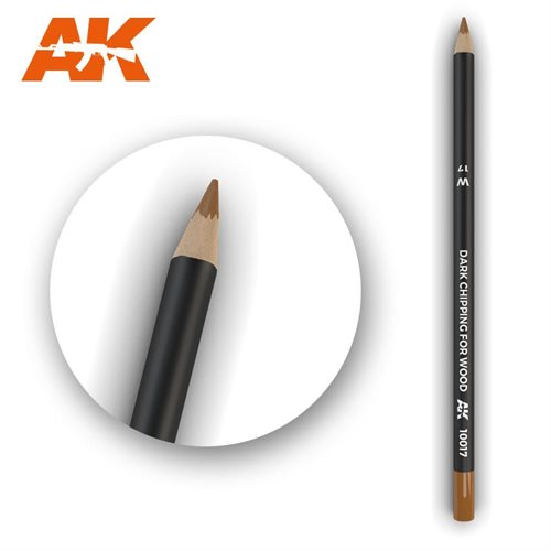 ak10017 Patineringsblyant, dark chipping for wood