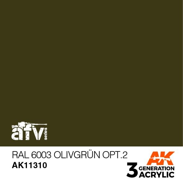 AK11310 RAL 6003 OLIVGRÜN OPT.2  – AFV, 17 ml