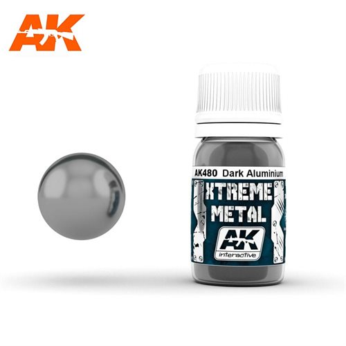 AK480 XTREME METAL DARK ALUMINIUM 30ML