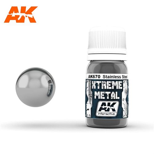 AK670 XTREME METAL STAINLESS STEEL 30ML