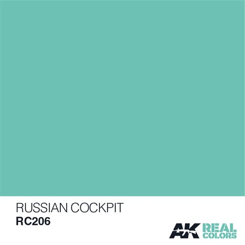 AKRC206 RUSSIAN COCKPIT TORQUISE 10ML
