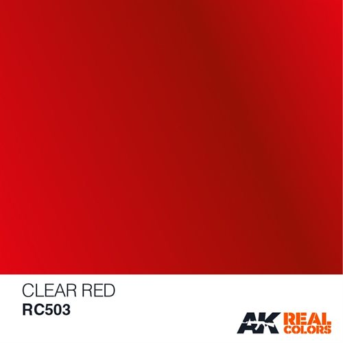 AKRC503 CLEAR RED, 10ML