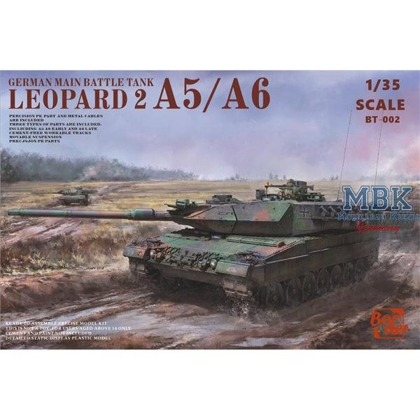 Border Model T002 Leopard 2 A5/A6 3 in1